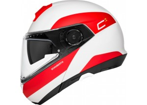 Casque Intégral Ouvrable Schuberth C4 Pro Fragment Rouge Mat