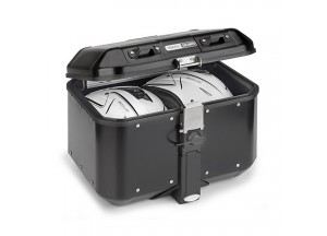 DLM46B - Givi Top case Trekker Dolomiti MONOKEY en aluminium peint en noir 46 lt