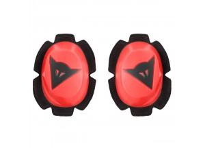 Protection des Genoux Dainese PISTA RAIN SLIDER Rouge-Fluo/Noir