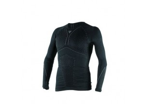 Chemise technique Moto Homme Dainese D-CORE THERMO TEE LS Noir/Anthracite