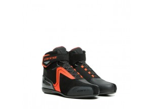 Chaussures Dainese Energyca Air Noir/Fluo-Rouge