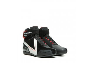 Chaussures Dainese Energyca D-WP Noir/Blanc/Rouge lave