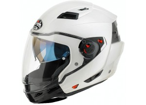 Casque Intégral Ouvrable Airoh Executive Color Blanc brillant