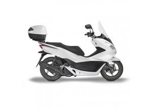 1129DT - Givi Pare-brise spécifique transparent 60,5x 3,5 cm Honda PCX 125 18>19