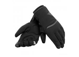 Gants Moto Dainese Plaza 2 Unisex D-dry Noir/Noir