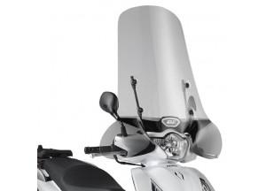1117A - Givi Pare-brise spécifique incolore 59x71,5cm Honda SH 125i-150i ABS