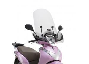 1125A - Givi Pare-brise spécifique, incolore 43x46cm (hxl) Honda SH Mode 125