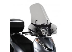 308A - Givi Pare-brise incolore avec sérigraphie 52x66,5cm Honda Vision 50-110