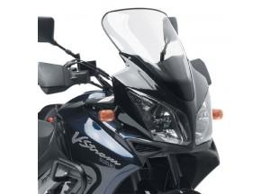 D255ST - Givi Bulle incolore 60x37,5 cm Suzuki DL 1000 V-Strom (02 > 11)