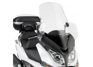 D318ST - Givi Pare-brise incolore 89x67 cm Honda SW-T 400 - 600 (09 > 16)