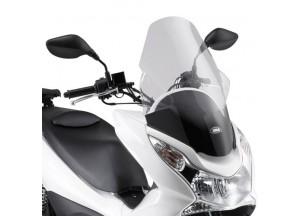D322ST - Givi Pare-brise incolore 59,5x44 cm Honda PCX 125-150 (10 >13)