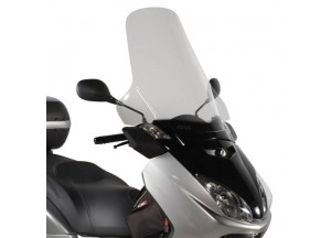 D438ST - Givi Pare-brise incolore 63,5x69,5 cm MBK Skycruiser | Yamaha X-MAX