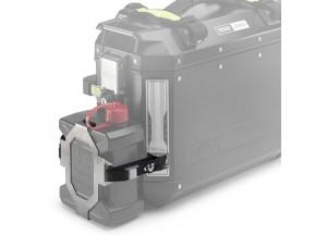 E148 - Givi Support démontable en inox pour fixer le TAN01 OBK37 / OBK47