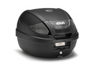 E300NT2 - Givi Top Case Monolock 30lt Noir/Réflecteurs Fumés