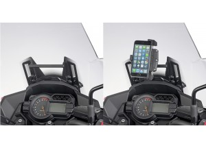 FB4120 - Givi Chassis support GPS pour S902A/M/L Kawasaki Versys 1000 (17)