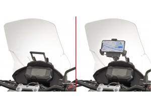 FB5126 – Givi support S902A S920M S920L GPS-Smartphone BMW G 310 GS (17-18)