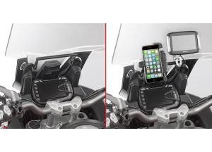 FB7408 - Givi Chassis support GPS pour S902A/M/L Ducati Multistrada Enduro 1200