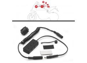S111 - Givi Chargeur HUB pour sacoche de réservoir.