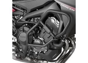 TN2122 - Givi Pare-carters tubulaires Noire Yamaha MT-09 Tracer (15>17)