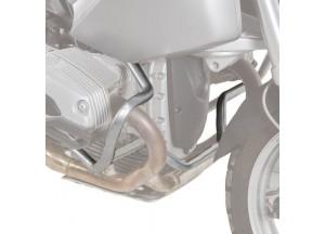 TN689 - Givi Pare-carters tubulaires spécifiques gris BMW R 1200 GS (04>12)