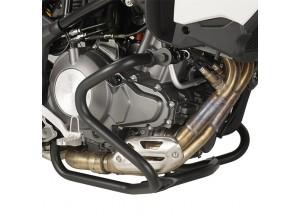 TN8703 - Givi Pare-carters tubulaires spécifiques, Noire Benelli TRK502 (17-18)