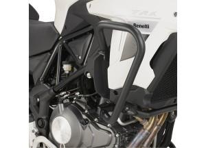 TNH8703 - Givi Pare-carters tubulaires spécifiques, Noire Benelli TRK502 (17-18)
