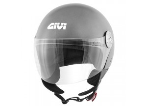 Casque Jet Givi 10.7 Mini-J Solid Colour Titane Mat