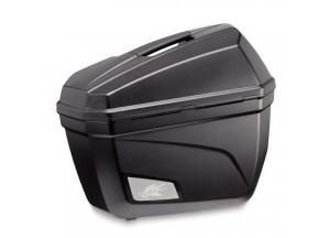 K22N - Kappa Paire de valises latérales MONOKEY® 22 Ltr. Noires