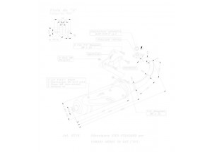 0716 - Silencieux Leovince Sito 2 Temps Yamaha AEROX 50 KAT