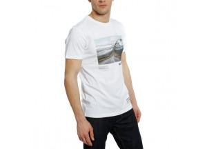 T-Shirt Adventure Dream Dainese Blanc/Noir