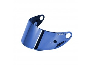 05GP5BL - Visière Iridium Bleu Airoh avec prédisposition Pinlock