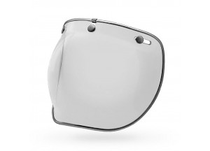 7018137 - Visière Bell Custom 500 3-Snap Bulle Deluxe Transparente