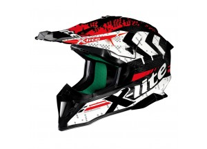 Casque Intégral Off-Road X-lite X-502 Ultra Carbon Nac Nac 3 Carbon White