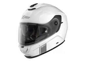 Casque Intégral X-Lite X-903 Modern Class 103 Metal Blanc