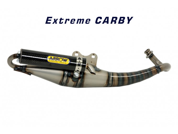 33507EK - SILENCIADOR ARROW EXTREME CARBONO PIAGGIO NRG MC2 50
