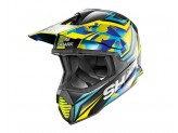 Casco Integral Off-road Shark VARIAL REPLICA TIXIER Negro Azul Amarillo