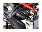 P-HST10CA - Escudo Térmico in Carbonio Akrapovic Triumph STREET TRIPLE/R 11-15