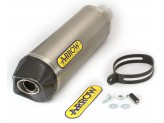 72615PK - TERMINALE ESCAPE ARROW RACE-TECH TITANIUM/FOND.CARBY BMW G 650 GS '11