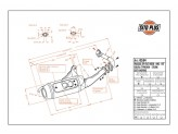 0554 - Silenciador Leovince Sito 2T Gilera STORM TYPHOON Piaggio NTT ZIP FAST