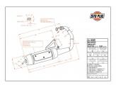 0559 - Silenciador Leovince Sito 2T Yamaha BW'S 50 MBK BOOSTER Italjet SCOOP
