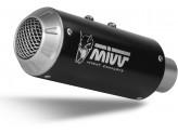 D.030.SM3B - Silenciador Escape Mivv MK3 BLACK DUCATI MONSTER 821 / 1200