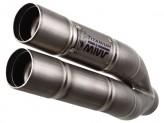 H.038.LDG - Silenciador Escape Mivv Double Gun Honda CB 600 Hornet 07>/CBR 600 F