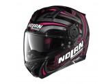Casco Integral Nolan N87 Ledlight 31 Glossy Black