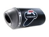 D035CO - Silenciador Escape Termignoni corto Carbono Ducati Monster S4R/S4RS