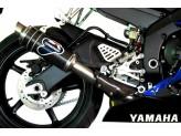 Y077080CR - Silenciador Escape Termignoni ROUND Carbono YAMAHA R6 (06-16)