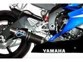 Y081080CR - Silenciador Escape Termignoni ROUND Carbono YAMAHA R6 (06-16)