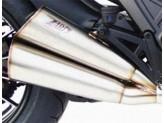 ZD117LIMSSR - Silenciador Escape Zard LIMITED EDITION Inox Ducati DIAVEL (11-18)