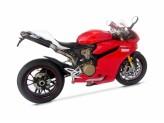 ZD1199STKR-1 - Escape Completo Zard Under-Seat Inox/Titanio Ducati 1199 Panigale