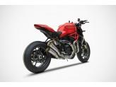 ZD126SKR - Escape Completo Zard Inox Ducati Monster 1200 R (16-19) / S (17-19)