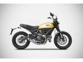ZD785SKR - Escape Completo Zard Conical Inox Ducati Scrambler 800 (15-19)